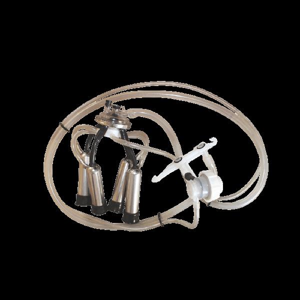 Аппарат доильный для доения в молокопровод