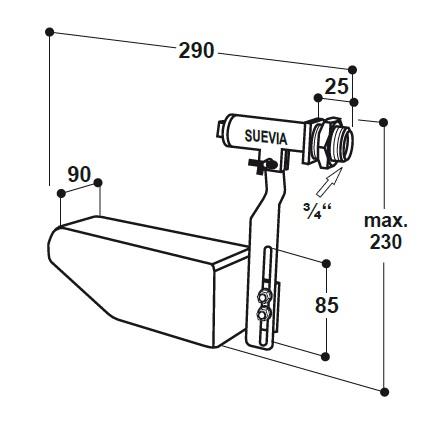 Клапан поплавковый Maxiflow 700